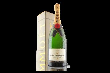 Champagne Moet & Chandon Brut Imperial Magnum in Branded Gift Box | Virgin Wines