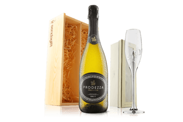 Happy 21st Birthday Prosecco With Flute In Wooden Gift Box